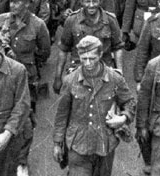 57,000 German prisoners march to moscow after defeat at Belarus